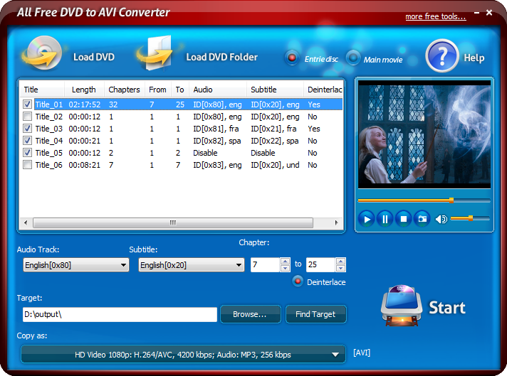 Free AVI Player  Free download and software reviews