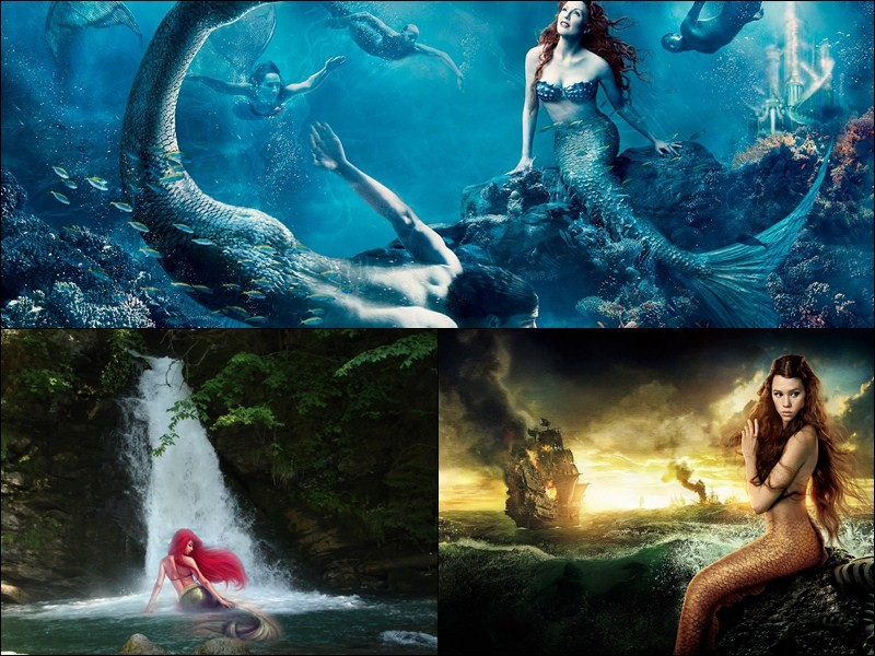 wallpaper beautiful mermaid pictures - photo #23