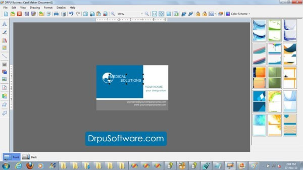 Business Card Maker Free Free Download and Review