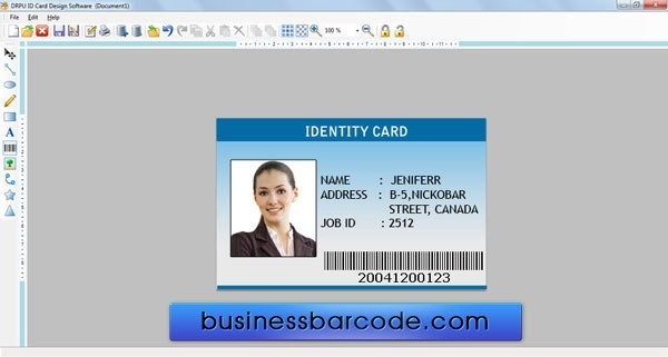 Awesome Image Of Business Id Cards Business Cards Design Ideas