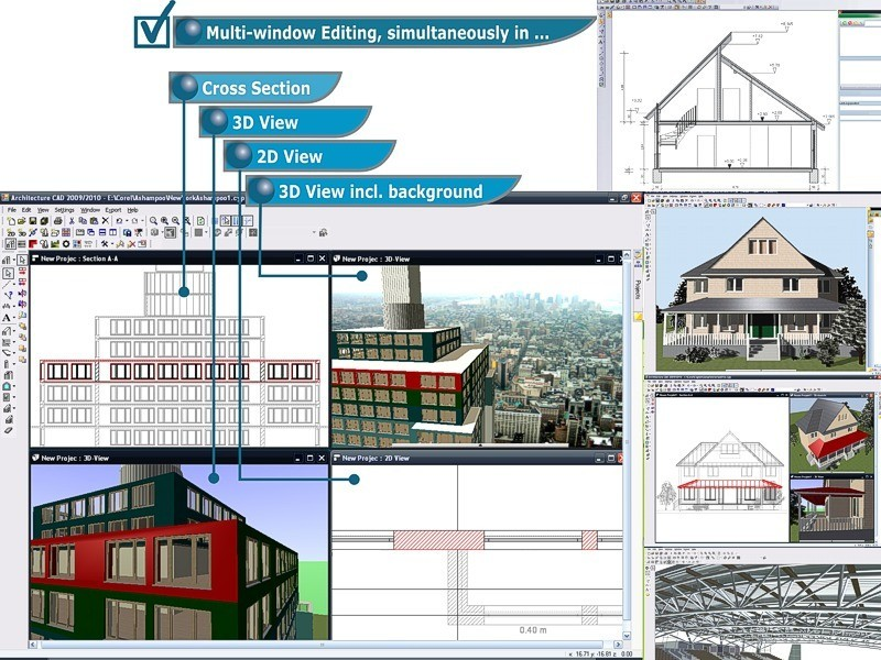 Cad Architecture Pro Architectural Design Software