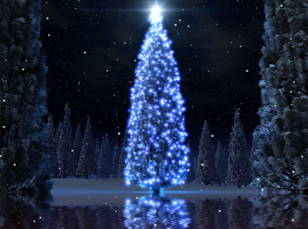 Christmas Tree Desktop Animated