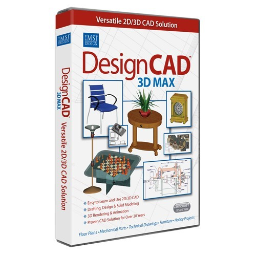 DesignCAD 3D MAX Free Download And Review