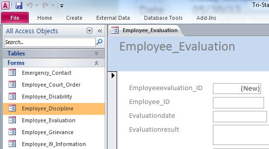 employee database pro free download and review
