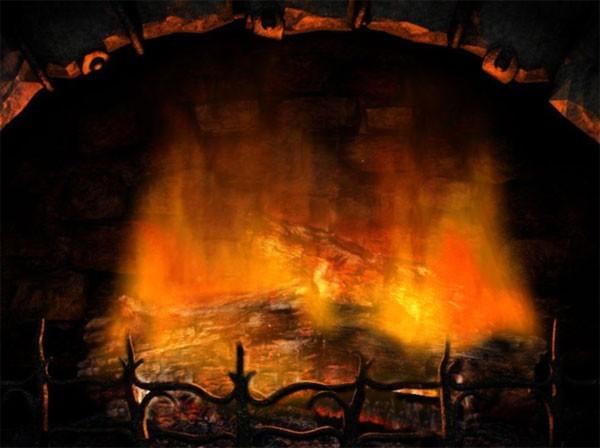 Free Animated Fireplace Desktop