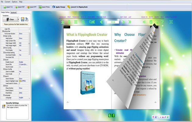 Download flash page flip free