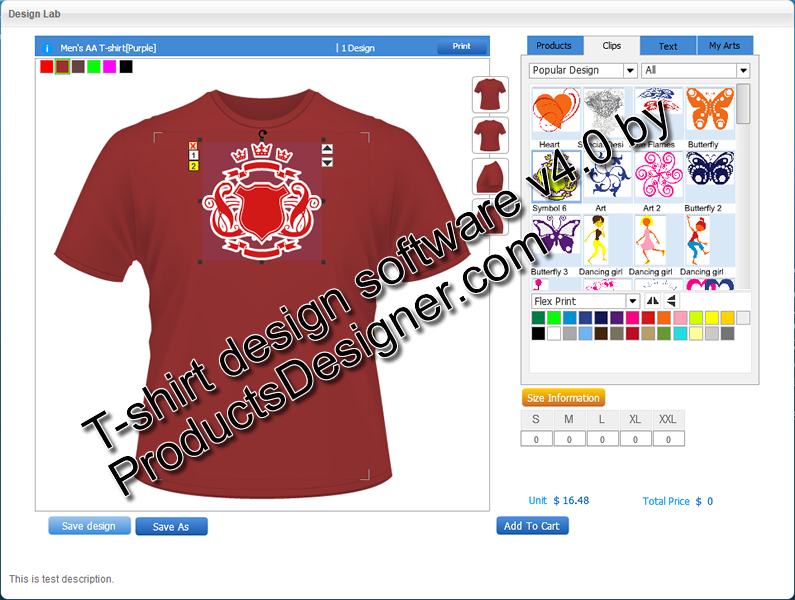 Design Clothes Software Free Download T Shirt Design Software