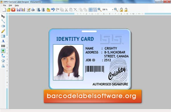 Id card design software free download full version for Office interior design software free download full version