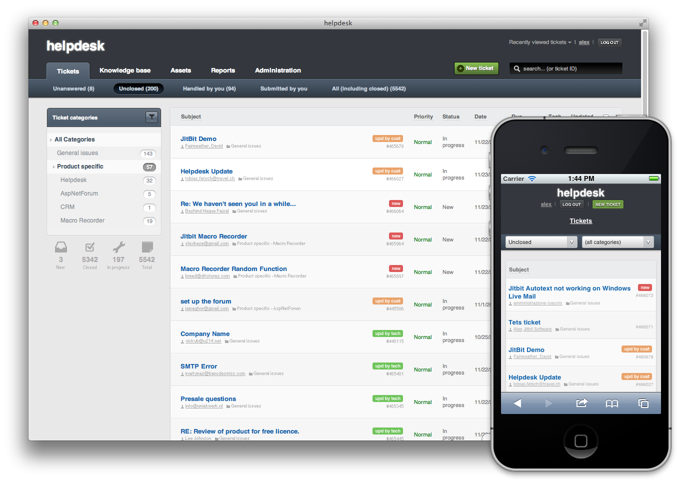 Jitbit Helpdesk Ticketing System Free Download And Review
