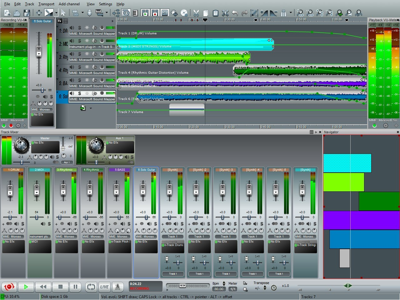mixpad multitrack recording software free download with crack
