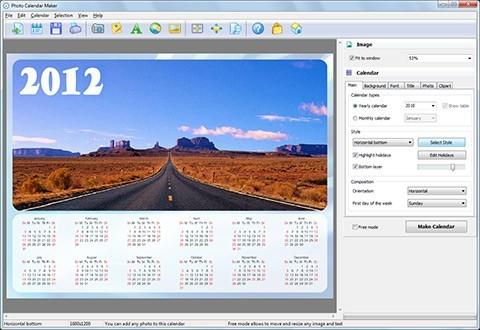Photo Calendar Maker 2.51 (Eng) - Serial