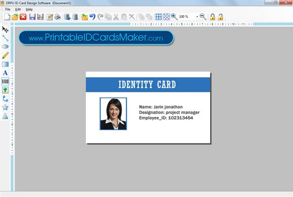 Printable ID Cards Maker Free Download and Review