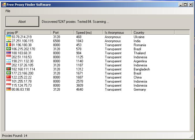 Free download Proxy Finder for windows 10 64bit current