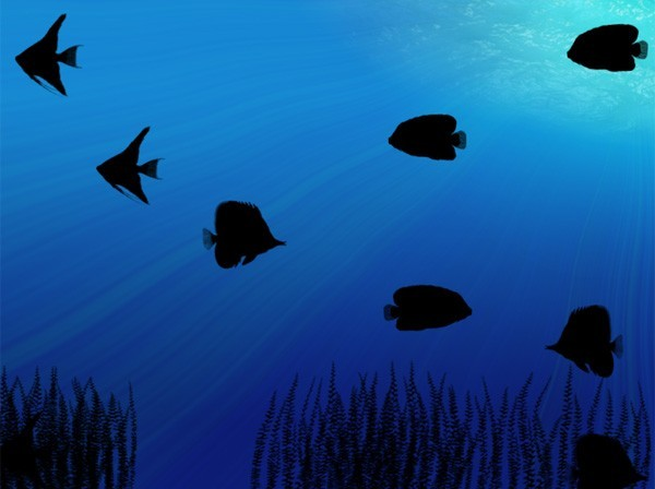 Free moving wallpapers for Animated fish tank