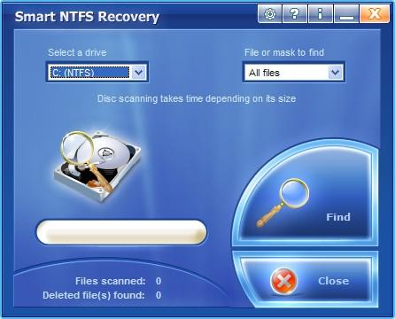 NTFS SYSTEM ERROR