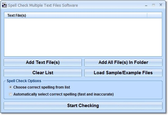 Spell Check Multiple Text Files Software Free Download And