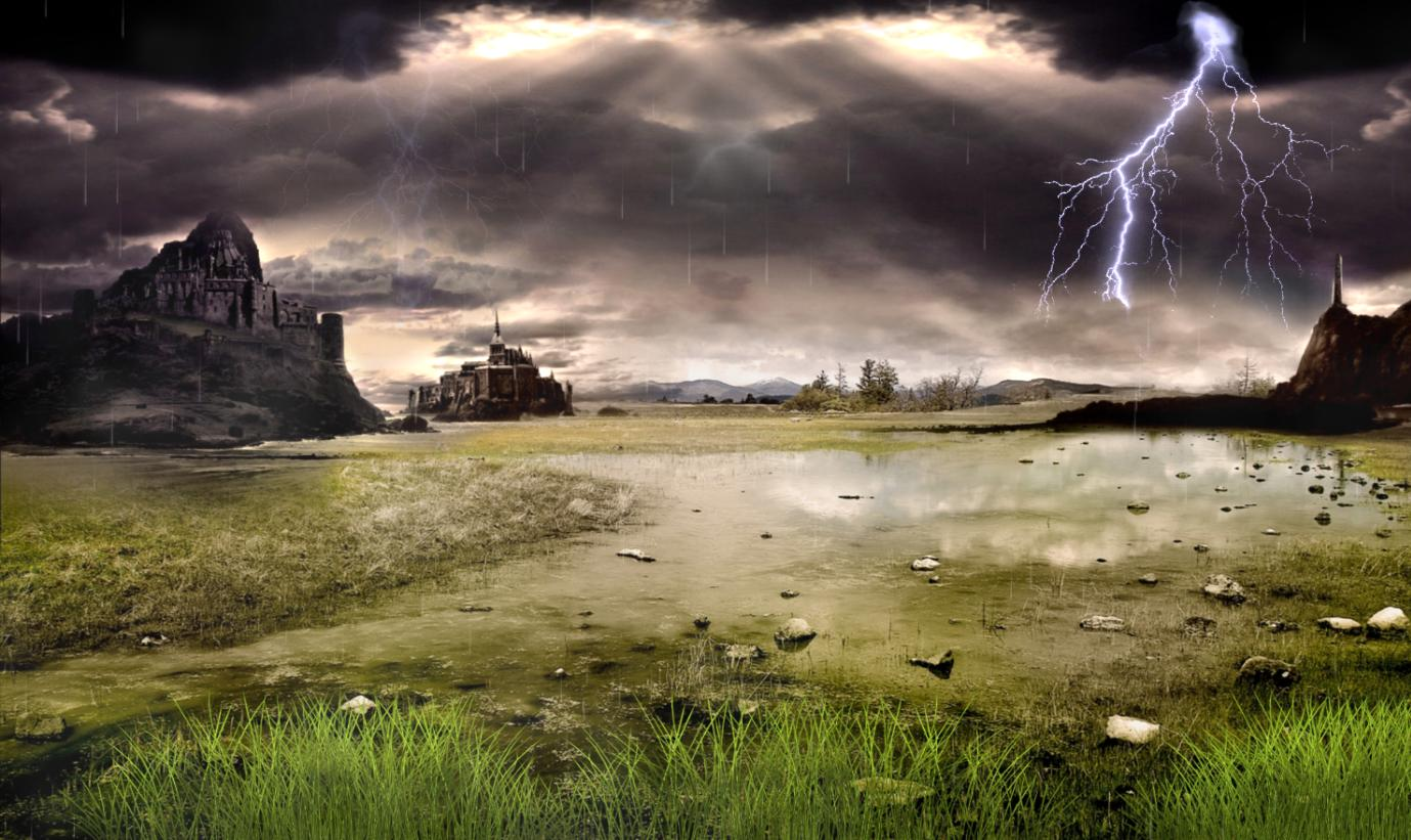Thunderstorm Field Animated Wallpaper Free Download and Review