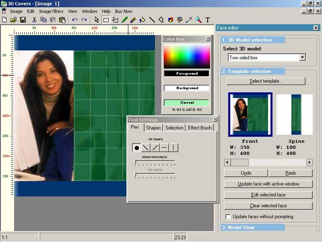 Virtual cover creator free download and review for Virtual home creator