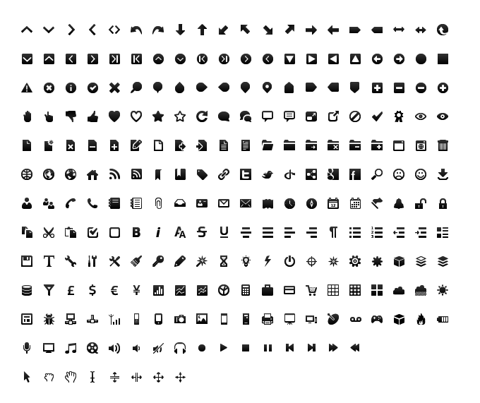 Icons Black on Desktop Wireframe Black And White Icon
